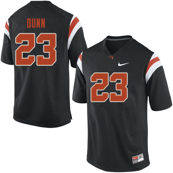 Men #23 Isaiah Dunn Oregon State Beavers College Football Jerseys Sale-Black