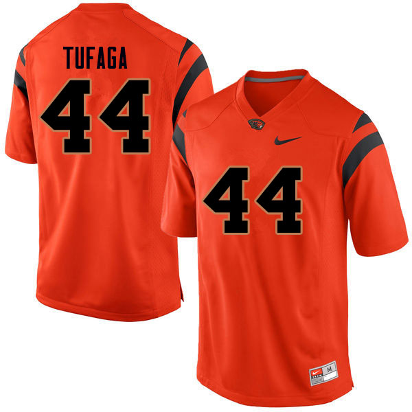 Men #44 Isaiah Tufaga Oregon State Beavers College Football Jerseys Sale-Orange