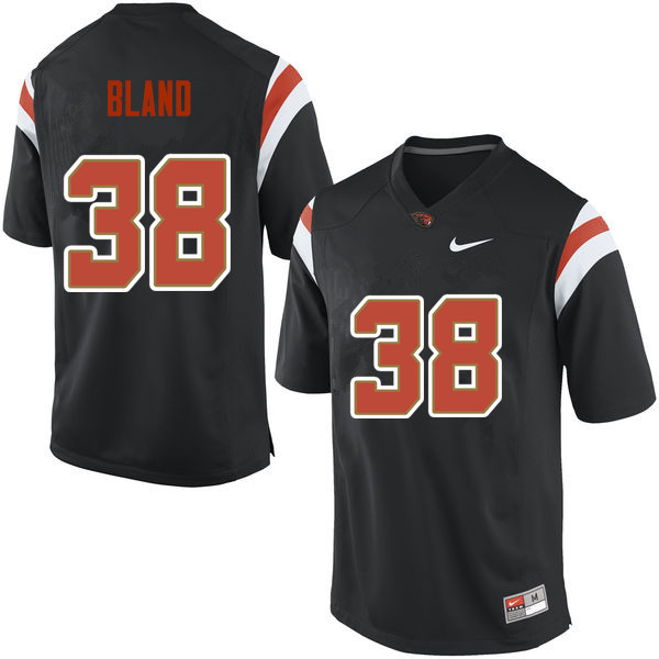 Men Oregon State Beavers #38 Alex Bland College Football Jerseys Sale-Black